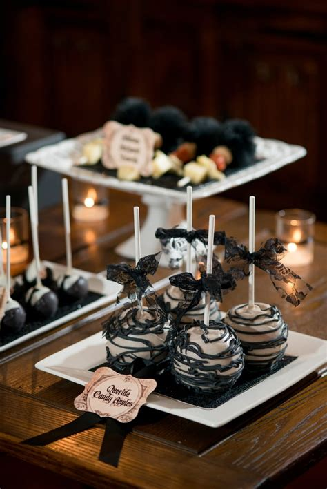 Addams Family Halloween Engagement Party | POPSUGAR Love