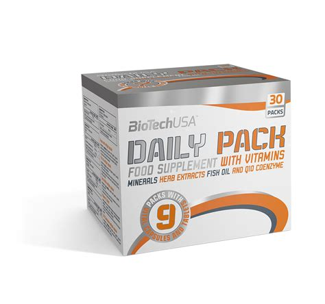 Daily Pack portion bags Biotech USA