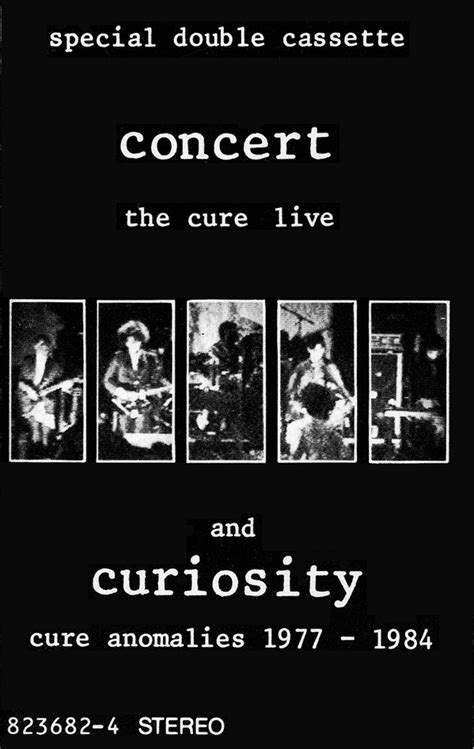 The Cure - Concert (The Cure Live) And Curiosity (Cure