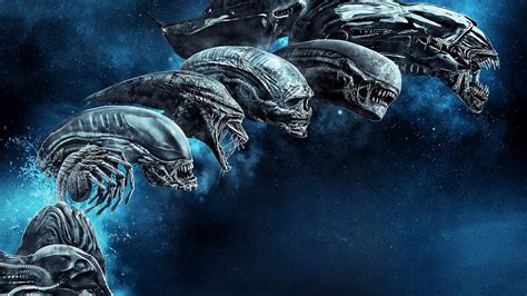Wallpaper Alien: Covenant, Blu-ray cover, HD, Movies