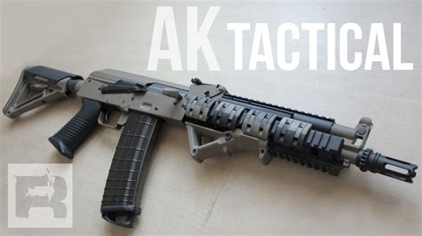 AK 47 Tactical - Magpul & Beta Project - YouTube