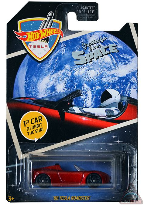 New Hot Wheels Tesla Roadster toy celebrates SpaceX