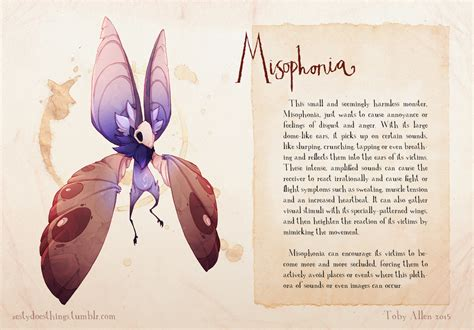 Mental Disorders Illustrated as Monsters - Earthly Mission