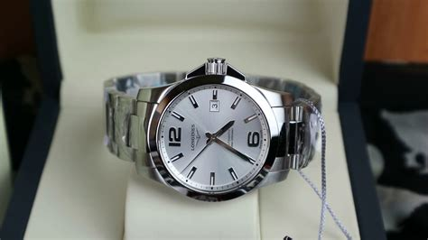 Longines Conquest Automatic 41mm Silver Dial, Conquest