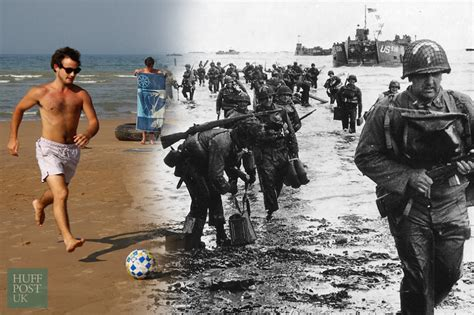 D-Day Landing Pictures That Bring The Past And Present