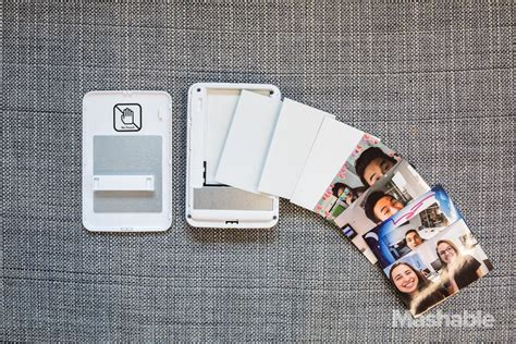 Polaroid Zip Instant Photoprinter prints stickers from