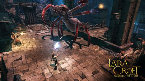 Lara Croft: Guardian Of Light HD Gives iOS Devices Even