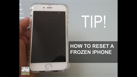 Frozen iPhone here is how to restart a frozen iPhone any
