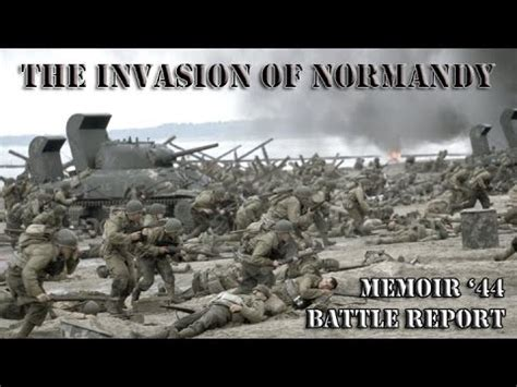 D-Day - The Invasion of Normandy at Omaha Beach Using