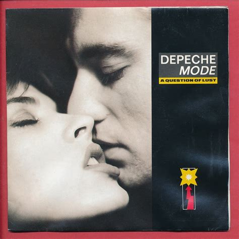 A question of lust - christmas island by Depeche Mode, SP